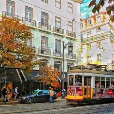 Autumn... /秋ですね... #portugal #lisboa #lisbon #super_lisboa #super_portugal #ok_portugal #lisboalive #lisbonne #travel #traveller #ig_travel #travelphoto #tram #streets #passionpassport #huffpostgram #places_wow #nikontop #team_jp_ #ポルトガル #wonderful_places #lisboacool #visitportugal #写真好きな人と繋がりたい #colourful #topeuropephoto #amar_lisboa #beautifuldestinations #igworldclub