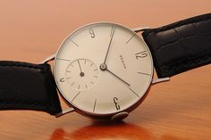 Bauhaus Zenith watch 1939. As fresh as ever