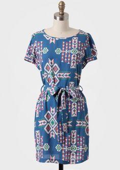Desert Sky Printed Dress   Modern Vintage Dresses   Modern Vintage Clothing