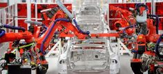 Илон Маск показал видео сборки новой модели Tesla Model 3 https://joinfo.ua/auto/autonews/1217423_Ilon-Mask-pokazal-video-sborki-novoy-modeli-Tesla.html