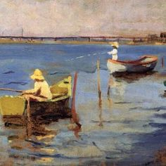 Charles W. Hawthorne - The Bridge at Provincetown