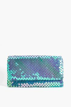 Dream Machine Clutch in Accessories Bags at Nasty Gal Accessories Shop, Fashion Accessories, Little Bag, Clutch Wallet, Clutch Bags, Holographic, Hologram, Mode Style, Beautiful Bags