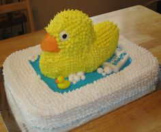 Rubber Ducky Cake--would be cute for a shower!!