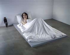 Ron Mueck Sculpture - this was an interesting exhibition. The human body was so lifelike