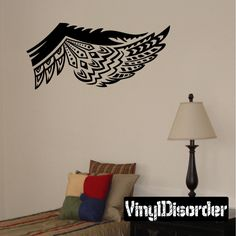 Wings Wall Decal - Vinyl Decal - Car Decal - DC12095