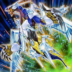 Crystal Wing Synchro Dragon [Artwork] by LKGiancarlo on DeviantArt