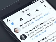 Twitter client for Android by Anthony Aubertin