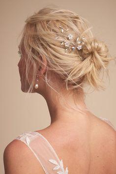 Silver Carlin Hair Pin | BHLDN