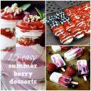 15 Easy Summer Berry Desserts