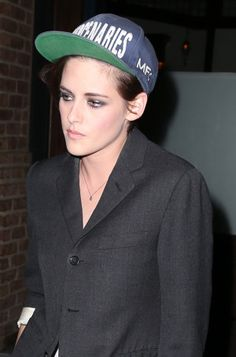 Kristen Stewart's Sleek Androgyny: 3 Takes on the Boyish Crop for more fashion and beauty advise check out The London Lifestylist http://www.thelondonlifestylist.com