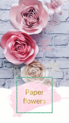 PAPER FLOWERS - nursery candy pink wall decoration PAPER FLOWERS wall decor, blush pink decor, Paper flowers nursery decoration, Nursery Wall Decor set of 3 small lilies, leaves and butterflies - mix of colors 3d Paper Flowers, Paper Flower Wall, Paper Flower Backdrop, Paper Roses, Girls Room Wall Decor, Nursery Wall Decor, Nursery Ideas, Nursery Room, Girl Nursery