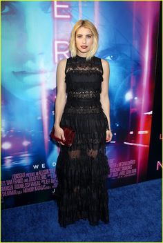 Emma Roberts Pleads the Fifth on 'Scream Queens' Cast Question | emma roberts dave franco nerve premiere 15 - Photo