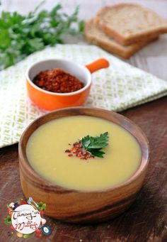 Pırasalı Sebze Çorbası Panna Cotta, Pudding, Yummy Food, Ethnic Recipes, Desserts, Foods, Food Food, Dulce De Leche, Delicious Food