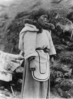 Inuit woman - circa 1920