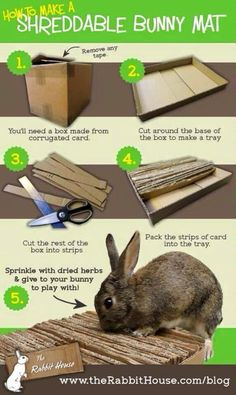 how to make homemade rabbit toys