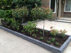 bloembakken als afscheiding - Google zoeken Home And Garden, Plants, Garden, Front Landscaping, Outdoor, Outdoor Gardens, Planters, Garden Planning, Patios
