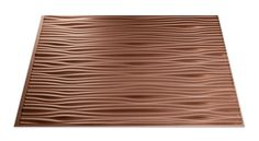 May use this in Michael's bathroom in strips behind showerWaves in Argent Copper