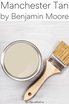 Manchester Tan Paint Color Grey Beige Paint, Beige Paint Colors, Paint Colors For Home, Beige Color, Benjamin Moore Beige, Shaker Beige, Grant Beige, Kilim Beige, Accessible Beige
