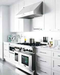 clean and classic kitchen.