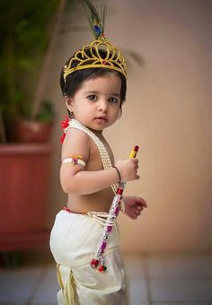 Little Krishna At In Kerala