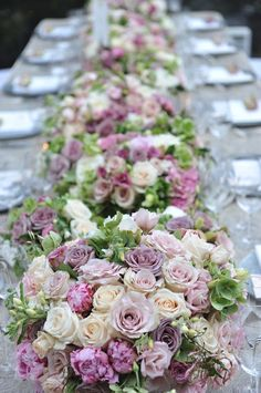 Peonies and roses, what's not to love?! - from Preston Bailey