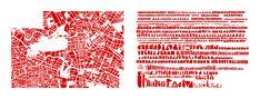 Berlín, mapa de Armelle Caron