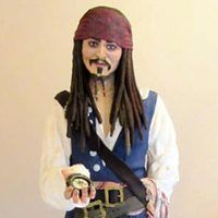 This Woman Baked a Life-Size Cake of Johnny Depp as Captain Jack Sparrow