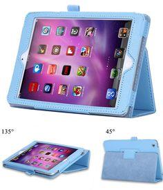 Heißer forapple iPad mini 1 2 3 A1432'A1454'A1489'A1491'A1599'A1600'A1601 Smart halterung Fall Ultra Slim Original 1:1 Tablet Leder