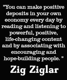 - zig ziglar - I always LOVED his seminars.  What an inspiration.  Sad he is gone!