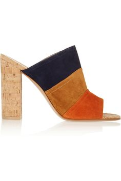 Spring 2015 shoes to buy: Gianvito Rossi Colorblock Mules ($660)