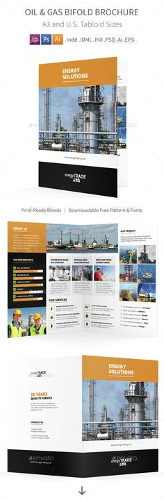 Beauty Spa Bifold / Halffold Brochure Brochures, Spa and Font logo - half fold brochure template