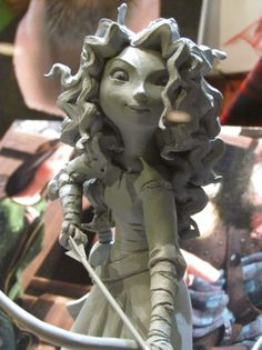 Pixar's Brave Concept Sculpture - I can not wait for this movie!!!