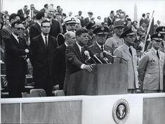 1963. 25 Juin. Hanau. Discours de JFK