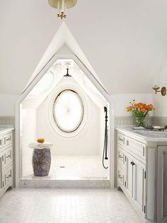182a2183f5f7 Think about who will be using the doorless shower when designing a doorless  shower s interior.
