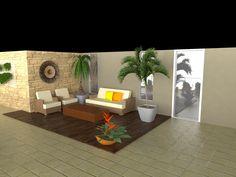 Cobertura. Projeto: Escritório de Arquitetura Servino e Assed Renderização: Estúdioi - Desenhos em 3D e Renderização de Imagens para Arquitetura