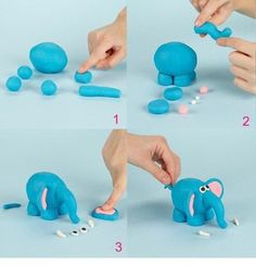 It's good idea for kids creative. Modelling in plasticine. #kids #creative #kidscreative #plasticine