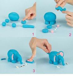 It's good idea for kids creative. Modelling in plasticine. #kids #creative #kidscreative #plasticine