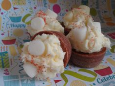 Peppermint Hot Chocolate Bakery Tarts - pinned by pin4etsy.com