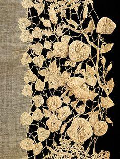 birdcagewalk/focus-damnit: Irish lace (via The Metropolitan Museum of Art)