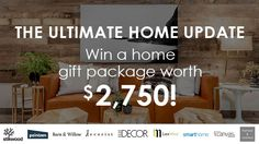 Win an Ultimate Home Update Package worth $2,750 – Ends Oct 16th #sweepstakes https://www.goldengoosegiveaways.com/win-ultimate-home-update-package-worth-2750-ends-oct-16th?utm_content=buffer01609&utm_medium=social&utm_source=pinterest.com&utm_campaign=buffer
