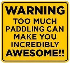 #Warning #kayak