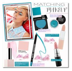 """""""Matchy Makeup"""" by cafejulia ❤ liked on Polyvore featuring beauty, VaVa, MAKE UP FOR EVER, Sephora Collection, Rimmel and MAC Cosmetics"""