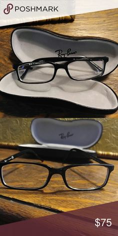 Ray-Ban Frames Lightweight simplistic unisex frames. Has prescription lenses. Ray-Ban Accessories Glasses