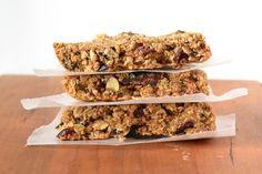 Peanut Butter Granola Bars - Food Doodles