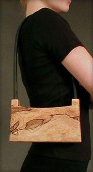 spalted maple purse... S. Miyazaki