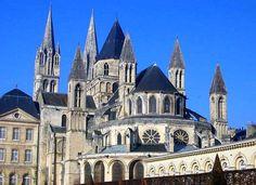 Abbaye aux Hommes - Caen, Normandy, France