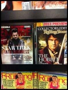a perfect world...So this happened at B & N today....#benedictcumberbatch#martinfreeman http://campl.us/nLyo