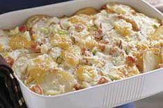 Weight Watchers Recipes - Scalloped Potatoes and Ham Bake