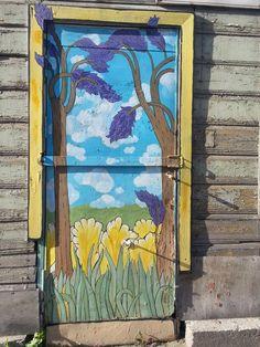 Seinämaalaus Tartossa