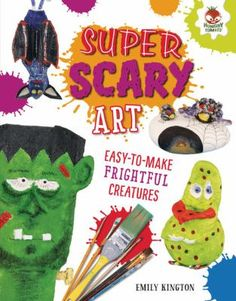 "Read ""Super Scary Art"" by Emily Kington available from Rakuten Kobo. Get ready to create some spooktacular art! Make a grisly gargoyle, a garbage gobbler, a scary skeleton, and more. Scary Art, Art Series, Fun Crafts, Free Apps, Art Projects, This Book, Skeleton, Illustration, Audiobooks"